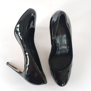 Cole Haan Nike Air patent leather black heels 8